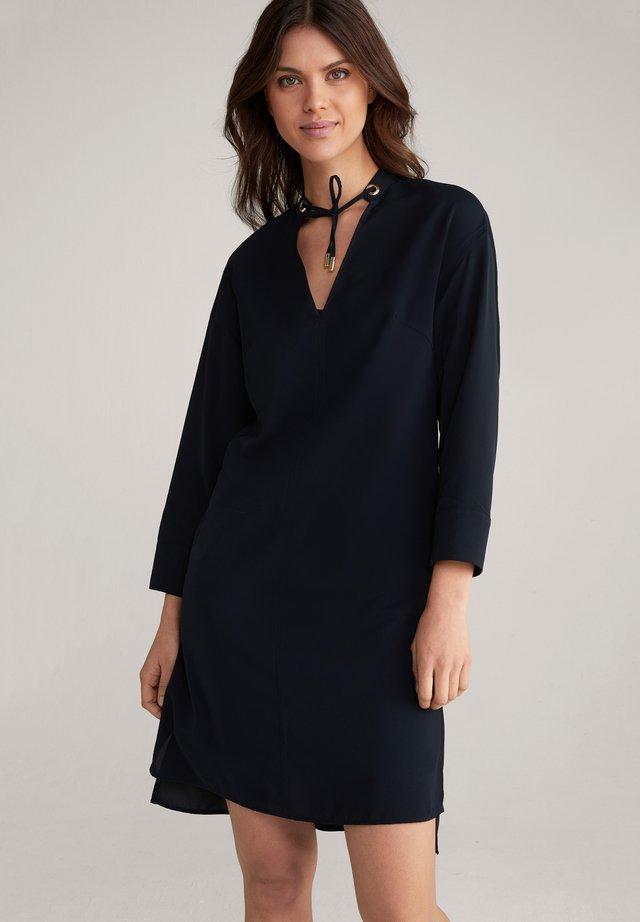 Korte jurk - dunkelblau