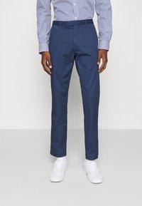 Polo Ralph Lauren - STRETCH SLIM FIT COTTON CHINO - Pantalon classique - rustic navy - 0
