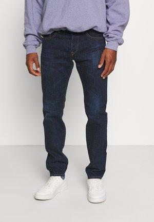 REGULAR - Jeans a sigaretta - nihon menpu/dark pure indigo rainbow selvage - blue - dark used
