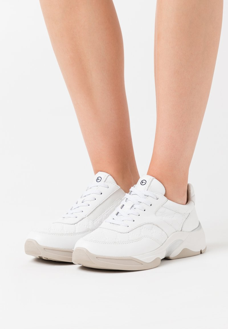 Tamaris Pure Relax - LACE UP - Sneaker low - white