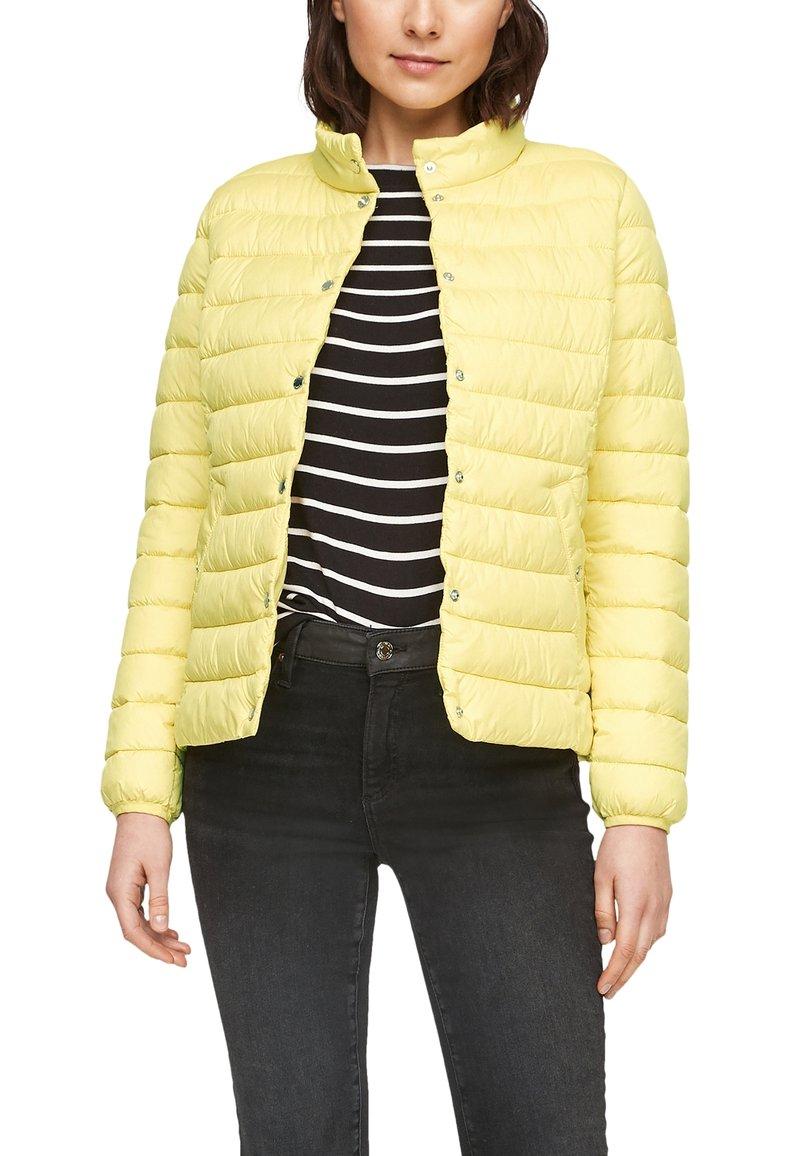 s.Oliver - Down jacket - gelb