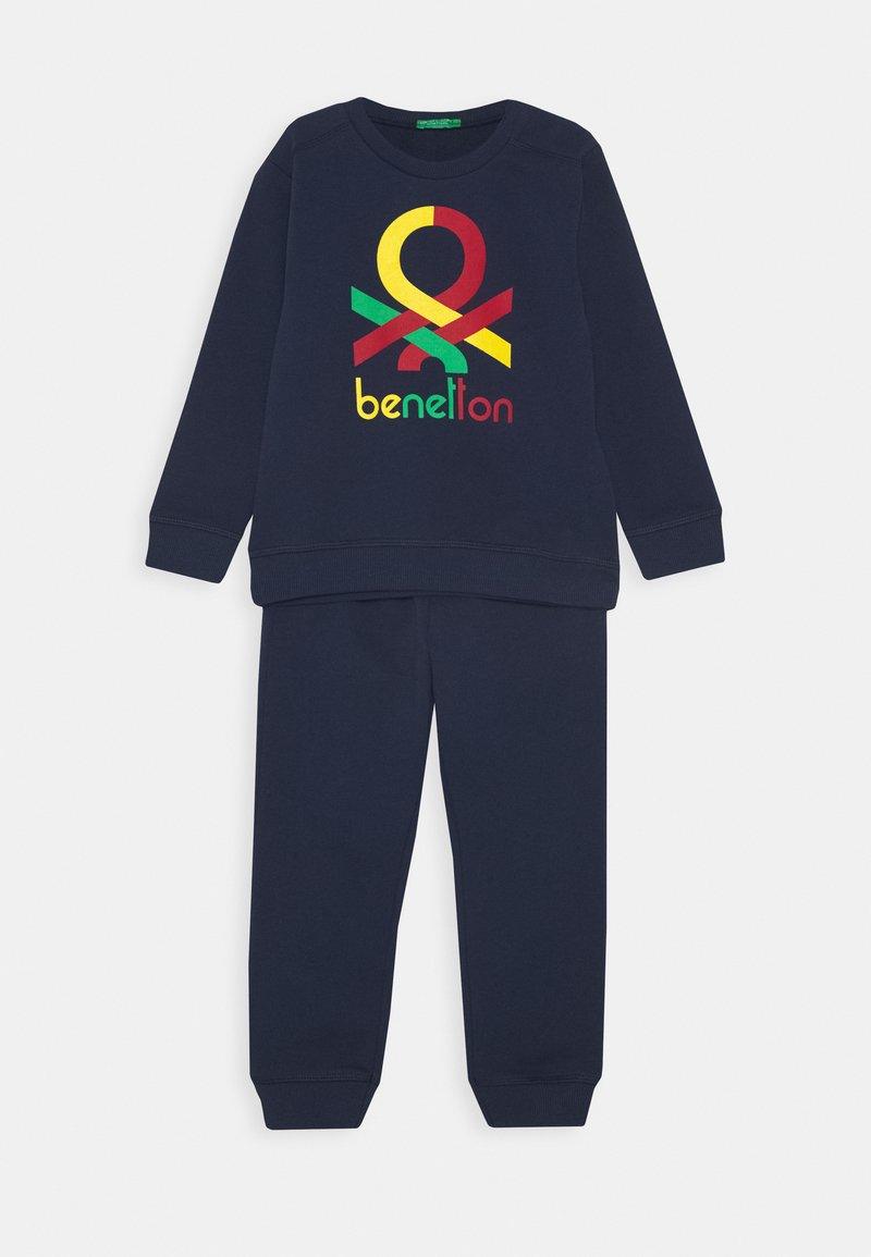 Benetton - BASIC BOY SET - Sweatshirt - dark blue