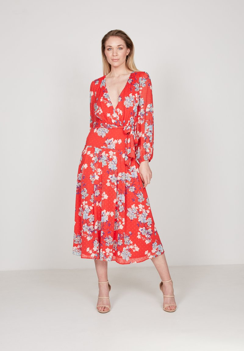 True Violet - Day dress - red