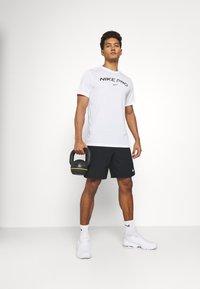 Nike Performance - TEE PRO - Triko spotiskem - white - 1