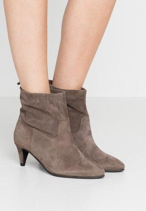 MALENA - Classic ankle boots - khaki