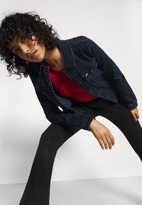 Tommy Jeans - VIVIANNE - Denim jacket - denim dark - 3