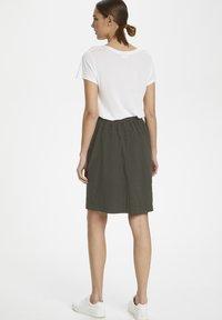 Kaffe - NAYA  - Pencil skirt - grape leaf - 2