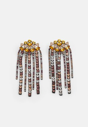 PCSABRINA EARRINGS - Ohrringe - black/multi