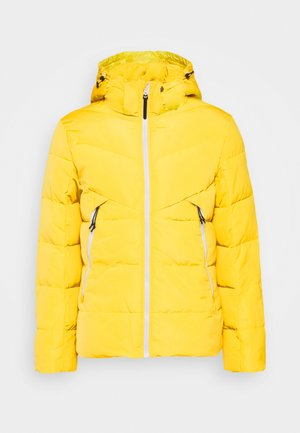 Winterjacke - lemon juice yellow