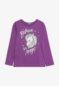 Benetton - LONG SLEEVES  - Långärmad tröja - purple - 2