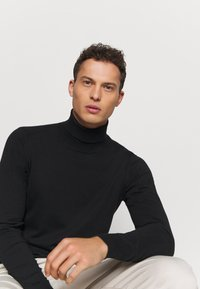 INDICODE JEANS - BURNS - Sweter - black - 3