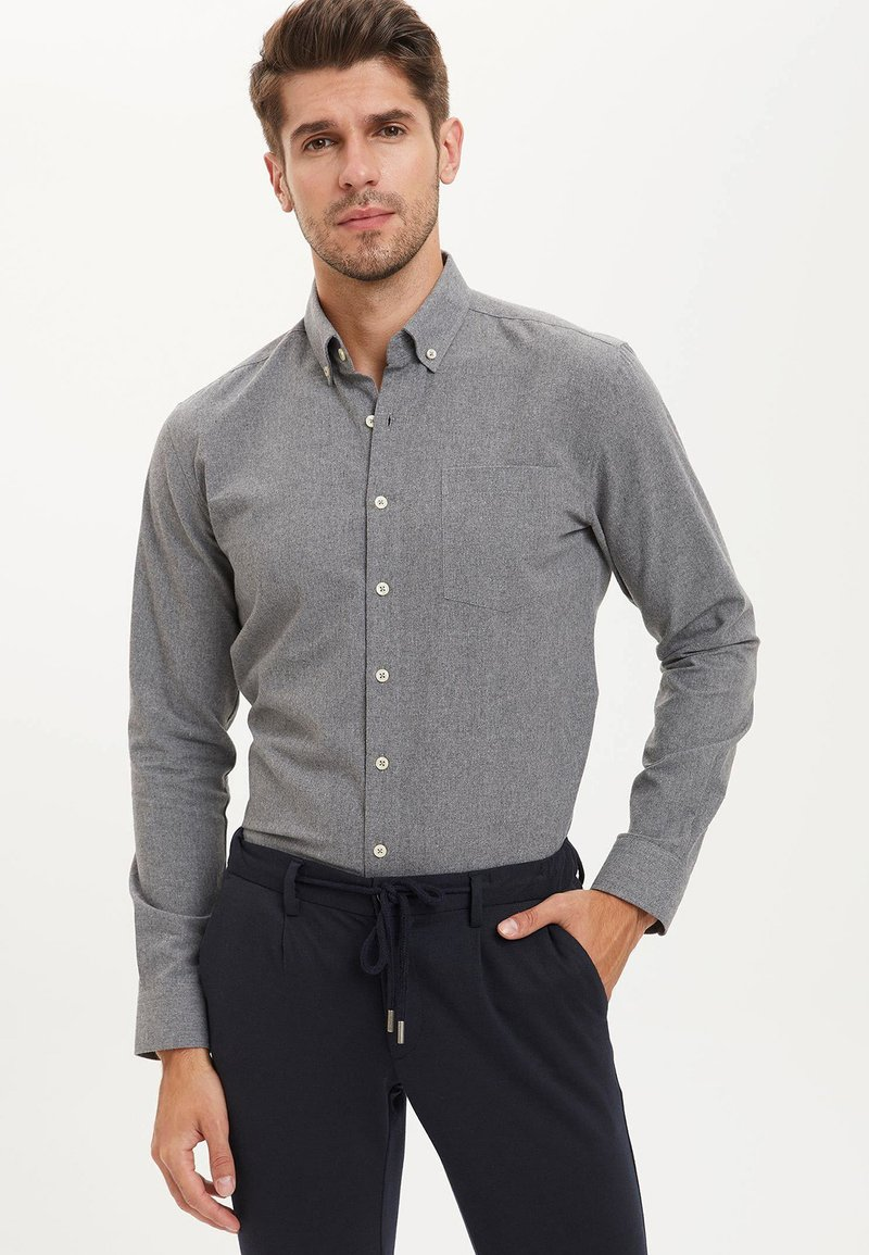 DeFacto - Shirt - anthracite