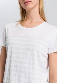 Marc Aurel - Print T-shirt - white - 3