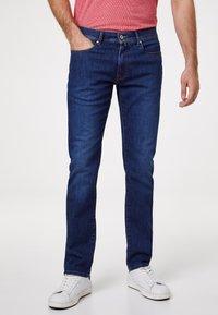 Pierre Cardin - VOYAGE LYON - Slim fit jeans - mid blue - 0