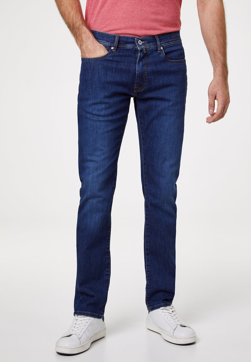 Pierre Cardin - VOYAGE LYON - Slim fit jeans - mid blue