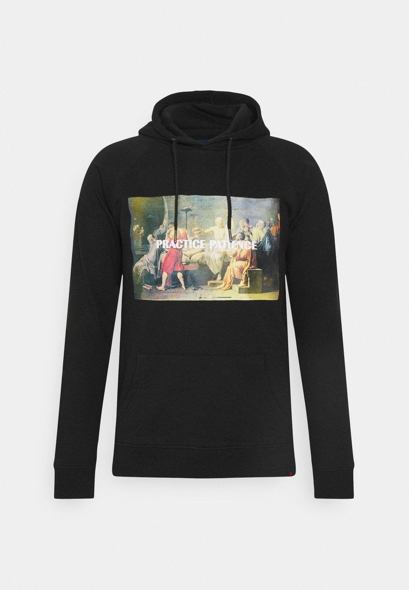 Denim Project - PHOTO HOODIE - Sweatshirt - black