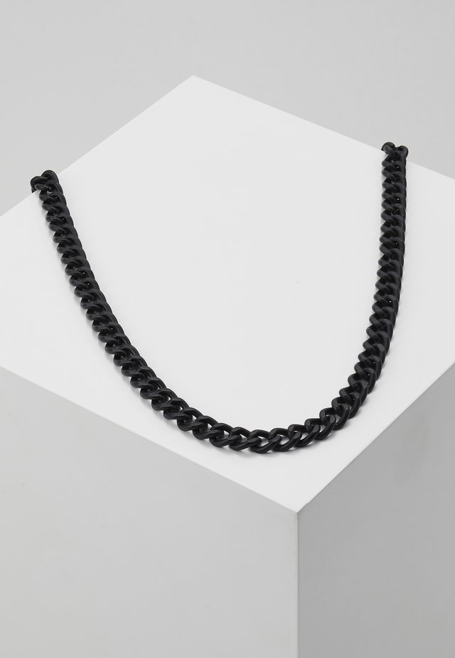CHUNKY CHAIN NECKLACE - Smykke - black