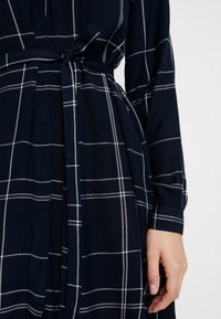 Great Plains London - AGNES CHECK - Shirt dress - space navy combo - 5