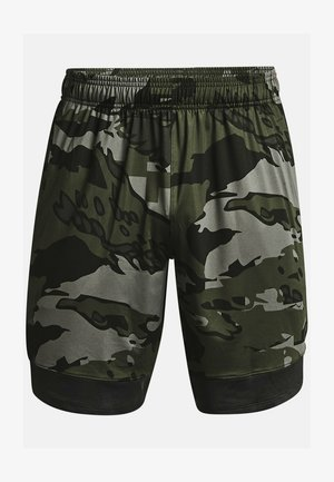 STRETCH CAMO - Sports shorts - baroque green