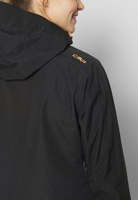 CMP - WOMAN JACKET FIX HOOD - Hardshell jacket - antracite - 4
