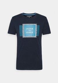 JCOBOOSTER TEE CREW NECK AUG 20/SLIM - Sports shirt - navy blazer