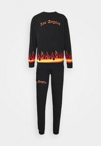 FLAME TRACKSUIT - Sweatshirt - black