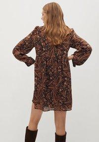 Mango - OSLO - Day dress - marron - 2