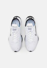 Nike Sportswear - AIR ZOOM TYPE - Trainers - white/black/pure platinum - 5