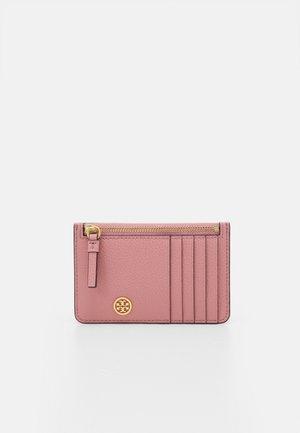 WALKER TOP-ZIP CARD CASE - Peněženka - pink magnolia