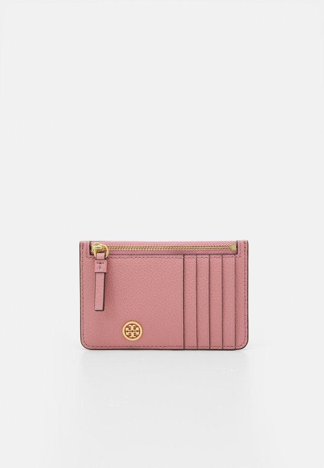 WALKER TOP-ZIP CARD CASE - Portafoglio - pink magnolia