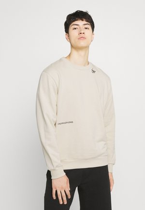TAPE CREW NECK - Sweatshirt - muslin