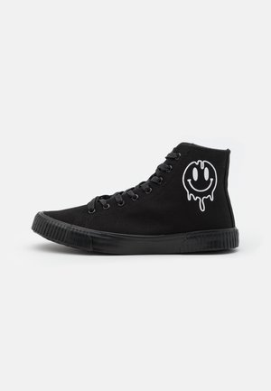 UNISEX - Sneakers high - black
