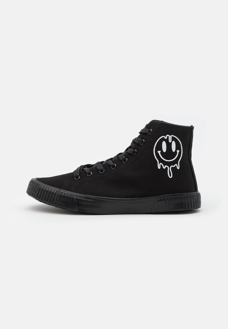 YOURTURN - UNISEX - High-top trainers - black