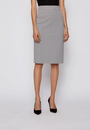 VINOA1 - Pencil skirt - natural