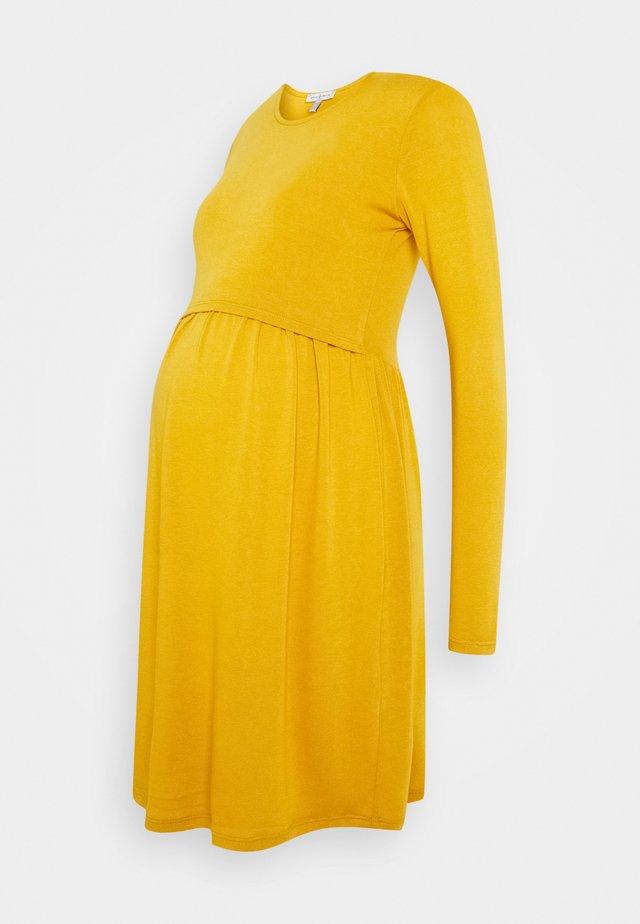 LIMBO - Jersey dress - mustard