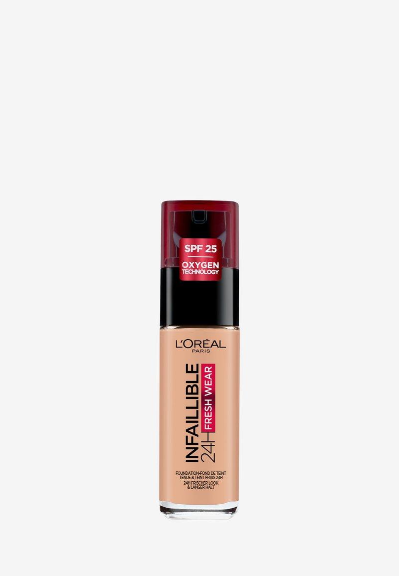L'Oréal Paris - INFAILLIBLE 24H FRESH WEAR MAKE-UP - Foundation - 245 golden honey