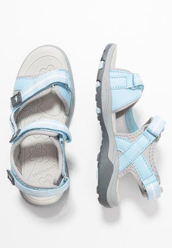 LENI - Walking sandals - blue sky/vapor grey