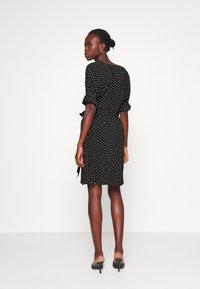 Gap Tall - TIE WAIST - Sukienka letnia - black - 2