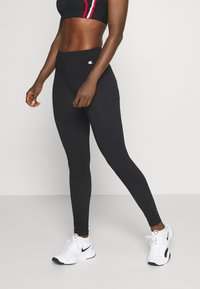 Champion - ESSENTIAL - Leggings - black - 0