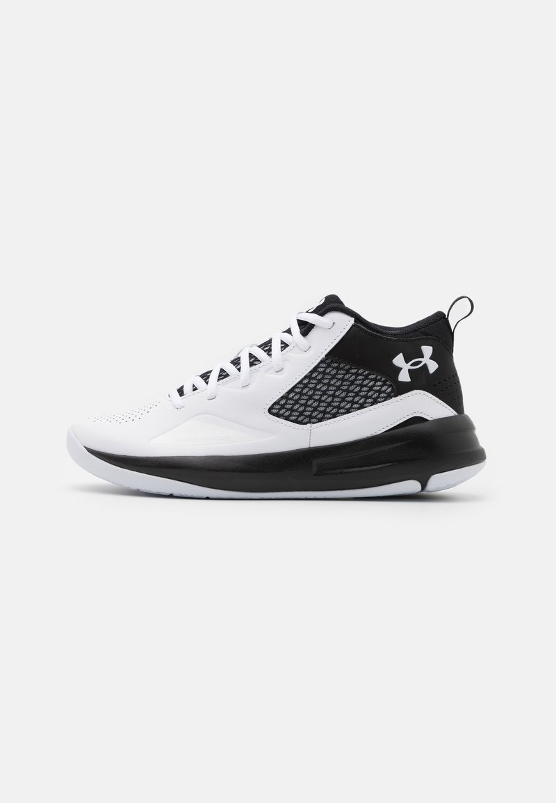 Under Armour - LOCKDOWN - Basketball shoes - white