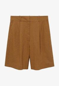 Mango - LEONARD - Shorts - light brown - 4