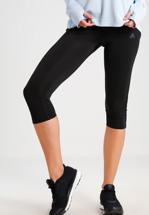 RESPONSE - 3/4 sports trousers - black