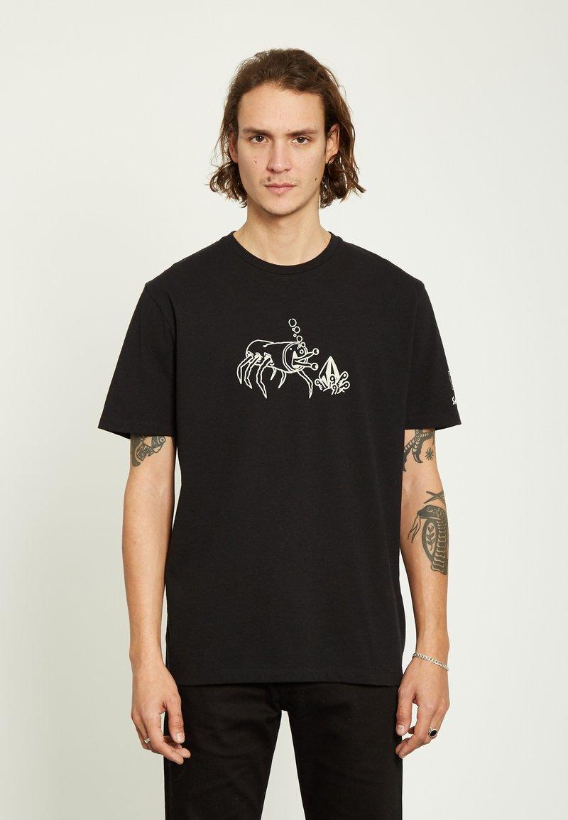 Volcom - ZUBIZARRETA  - Camiseta estampada - black