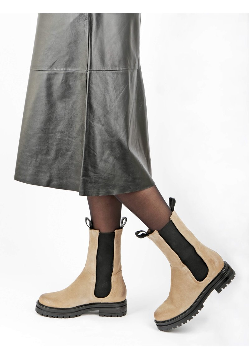 MJUS - Classic ankle boots - opale