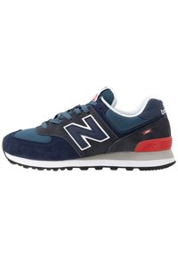 New Balance - 574 - Sneakers basse - stone blue outerspace (ML574EAE) - 0