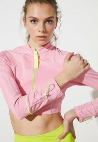 Trendyol - Training jacket - pink - 4