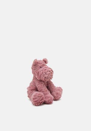 FUDDLEWUDDLE HIPPO MEDIUM UNISEX - Pehmolelu - pink
