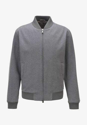 NOLWIN - Zip-up hoodie - silver