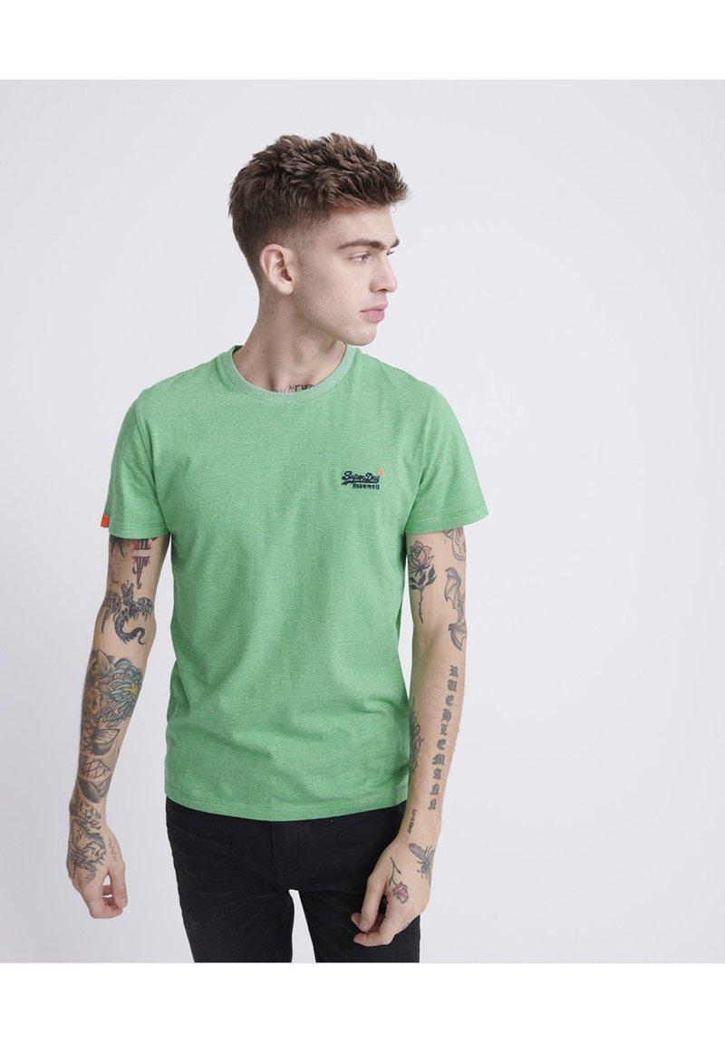 Superdry - VINTAGE CREW - Basic T-shirt - green