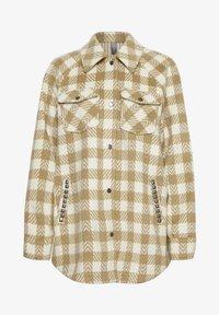 Culture - CUSARIA SHIRT JACKET - Winter jacket - tannin - 5